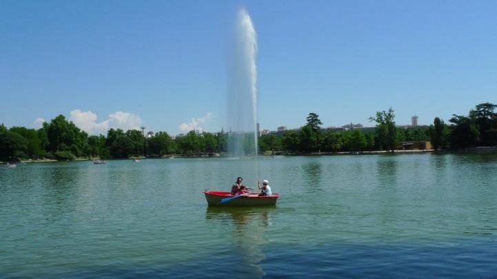 Lago en la Casa de Campo