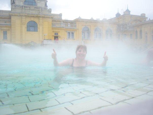 Baño termal en Budapest