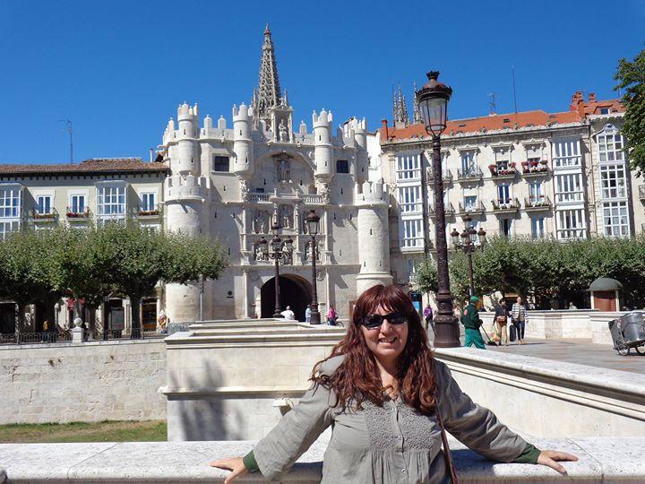 En la bonita ciuda de Burgos
