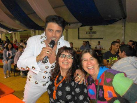 Conocimos al mísmiso Elvis en Oktoberfest Leganes 2013
