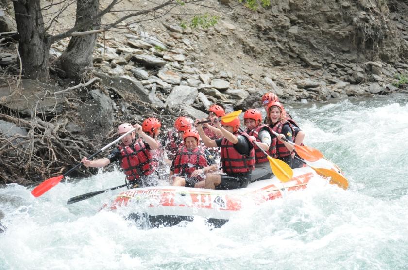 Rafting en si mismo