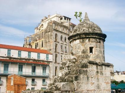 Restos de la antigua muralla de la ciudad, foto cedida por S.M.