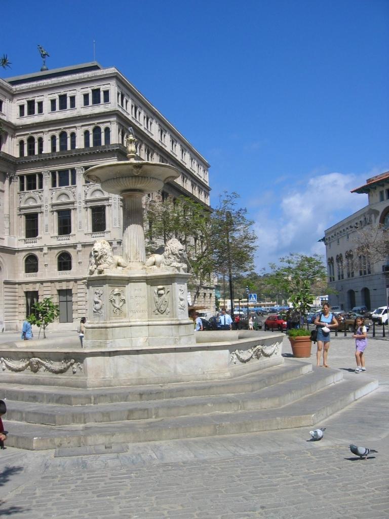 Plaza en el casco histórico