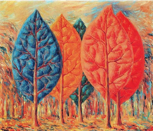 Magritte_El Fuego