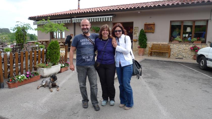 Dos grandes, Noelia y Jan