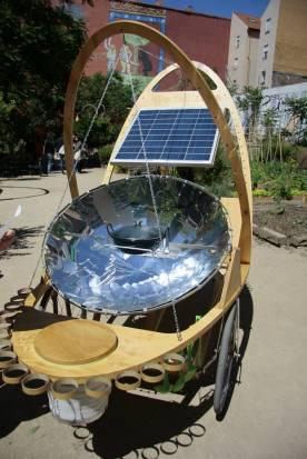 Cocina solar y móvil
