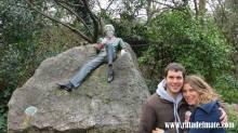 Con su amigo Wilde en Dublín