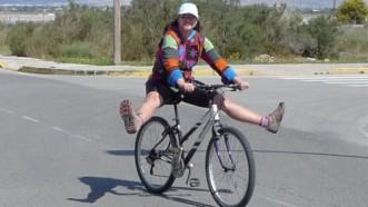 Caerse de la bici
