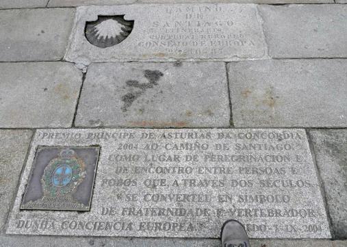 """Homenaje al """"Camino de Santiago"""""""