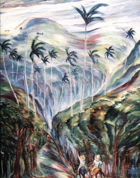 Carlos Enríquez y sus maravillosos paisajesde los campos de Cuba