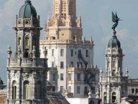 Vista de los edificios de la zona