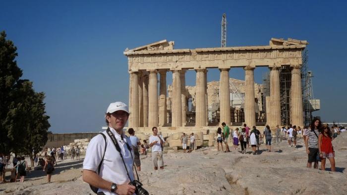 Ir al Acrópolis en Atenas y no tirarte una foto, imperdonable