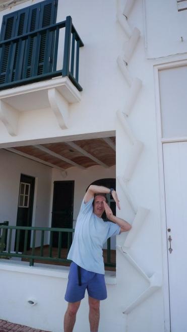¿Haciendo el ganso? O efectos de una mariscada con vino blanco Fornells - Menorca