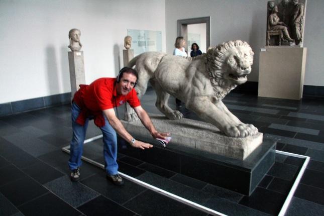 ¿Es tan fiero el león como lo pintan? Museo del Pérgamo - Berlín