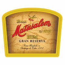 Etiqueta Ron Matusalem, Gran Reserva
