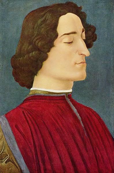 Retrato de Giuliano Medici - Botticelli