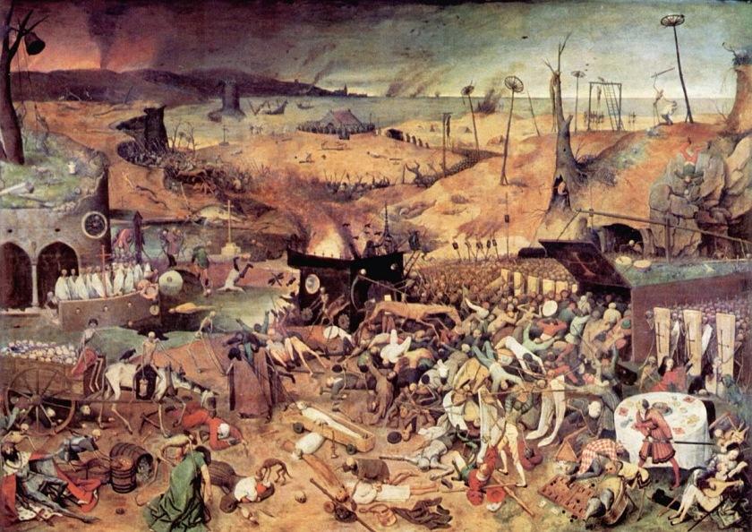 """El triunfo de la Muerte - Bruegel """"el Viejo"""""""