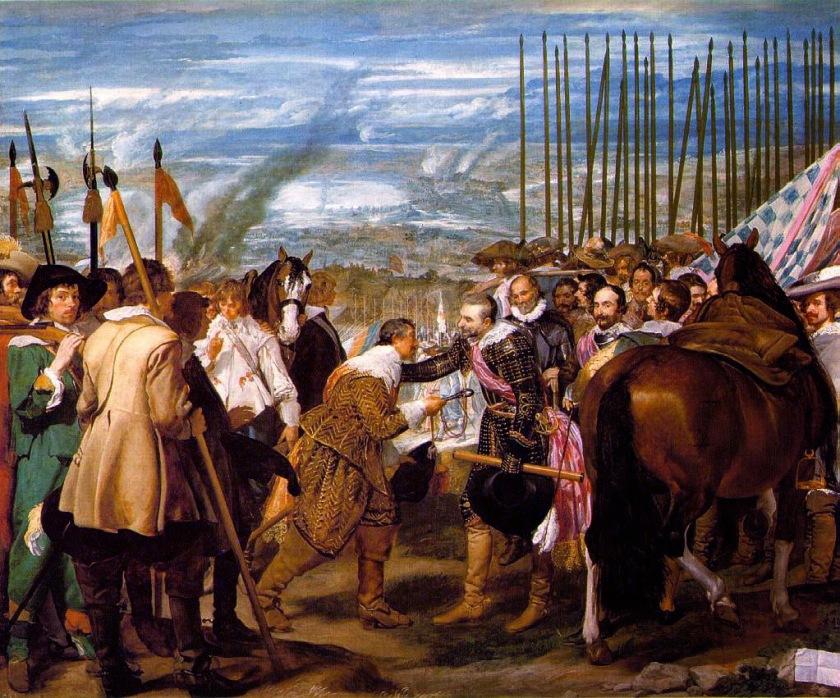 Las lanzas, o La Rendición de Breda - Diego Velázquez