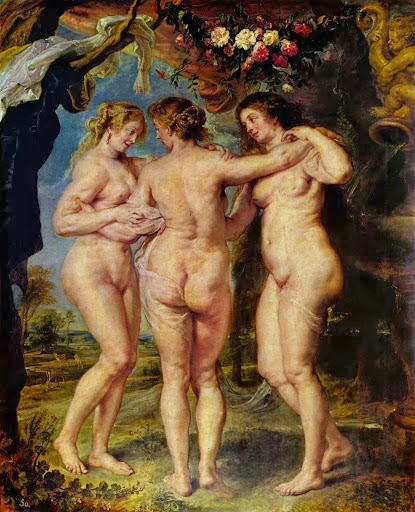 Las Tres Gracias - Rubens