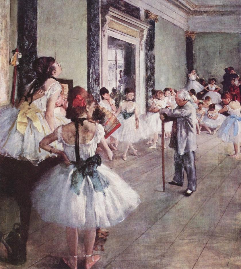 La classe de danse - Degas
