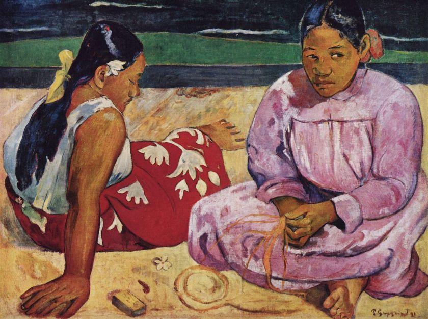Femmes de Tahiti - Gauguin