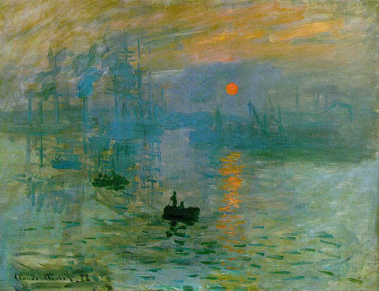 Impression, soleil levant - Monet
