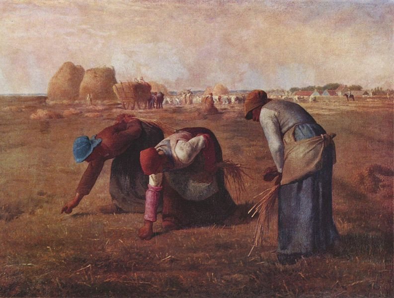 The Glaneuses - Millet