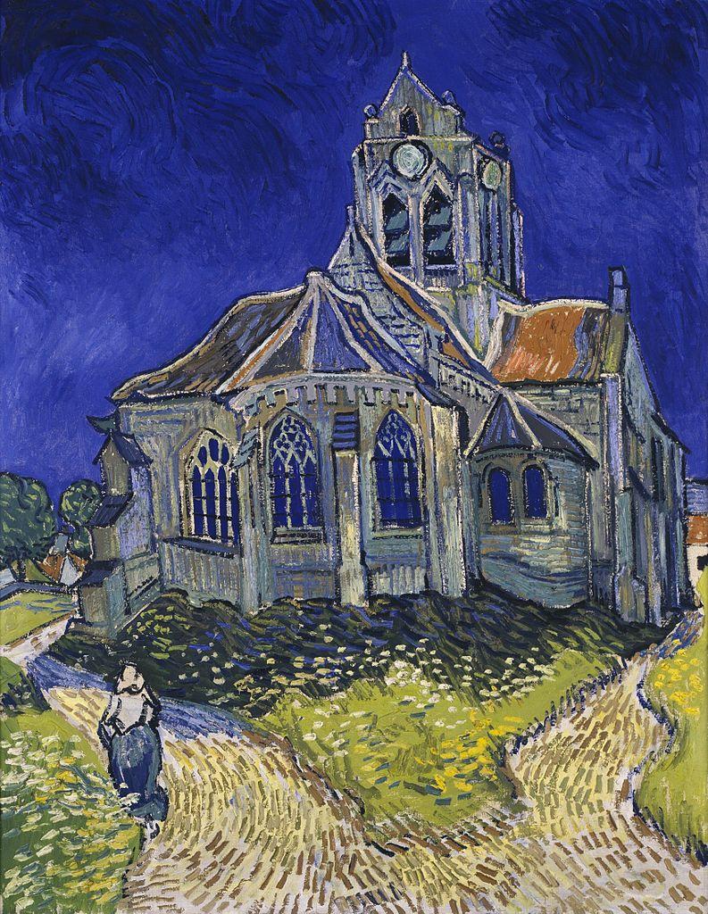 L'Eglise d'Auvers-sur-Oise, vue du chevet -Van Gogh