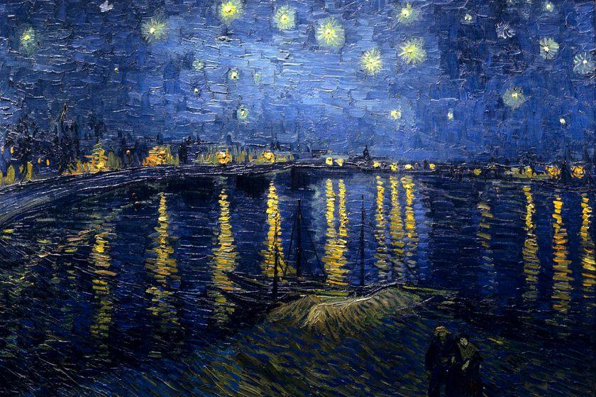 La nuit étoilée -Van Gogh