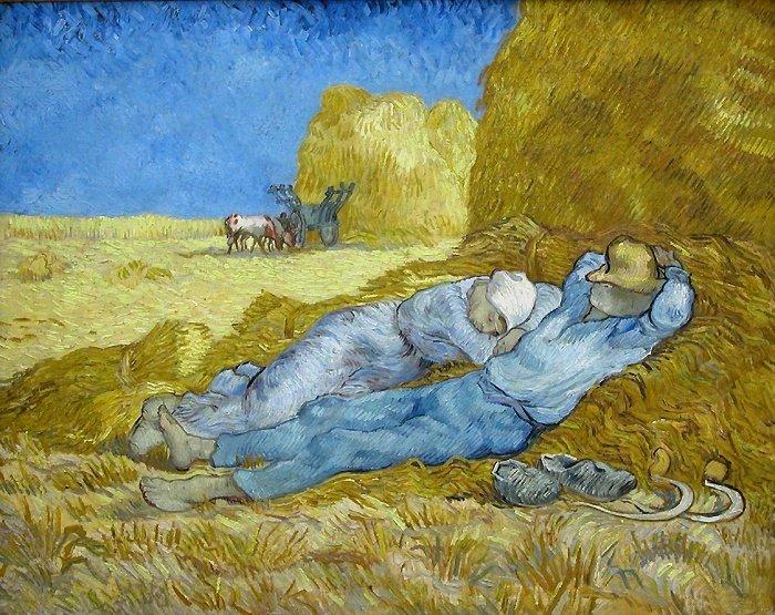 La méridienne -Van Gogh