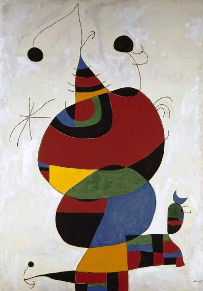 Mujer, pájaro y estrella ó Homenatge a Pablo Picasso