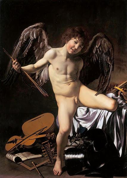 Amor Vincit Omnia - Caravaggio.