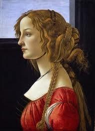 Retrato de una dama - Botticelli