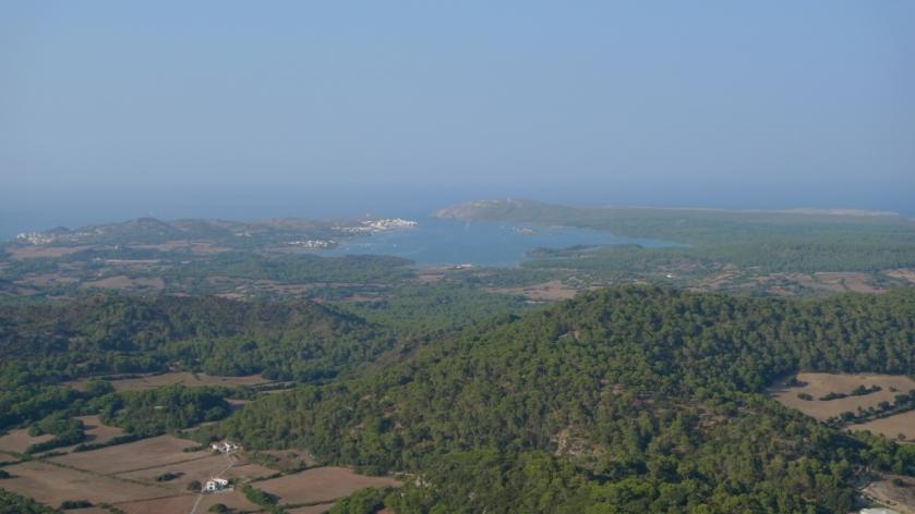 Mirador desde el Monte Toro