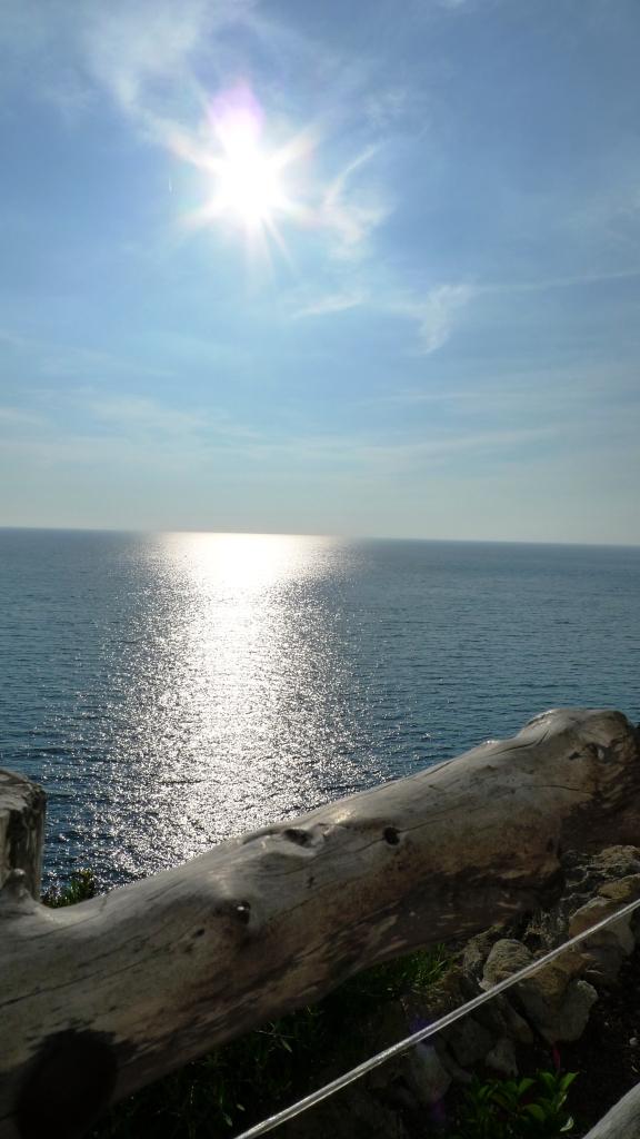 Puesta de sol ... desde cualquier lugar de la isla