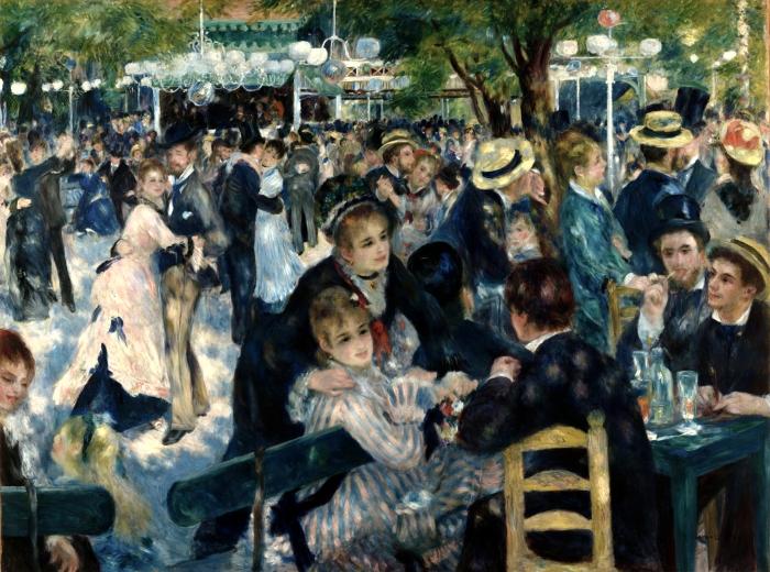 Bal du moulin de la Galettee - Renoir