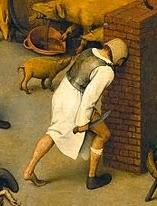 1. Golpear la cabeza contra un muro de ladrillos 2. Un pie calzado y otro descalzo