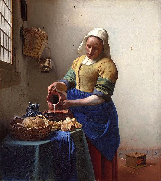 Rikjsmuseum_Vermeer_Lechera