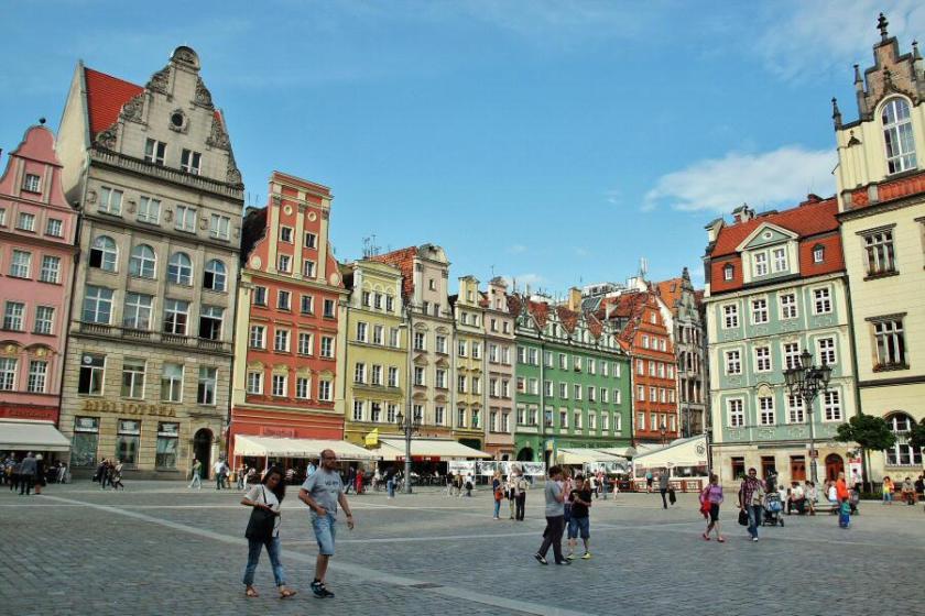 Plaza Wroclaw - Polonia