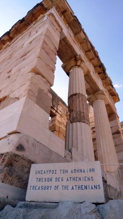 Recinto del Tesoro de los Atenienses