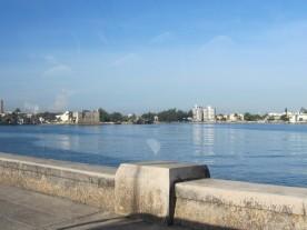 Final del paseo del Malecón