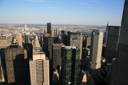 Grandes urbes y rascacielos muestran muchas ciudades de EEUU Nueva York