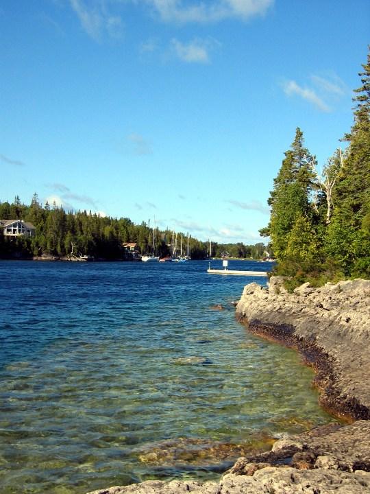 Los paisajes de Canadá son inagotables Bruce Península - Lago Hurón - Canadá