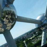 Viaje al centro del Atomium, Bruselas