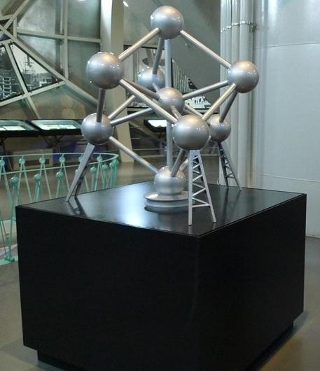 Maqueta del Atomium