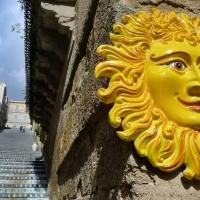 """Subiendo las """"escaleras al cielo"""" en Caltagirone, Sicilia"""