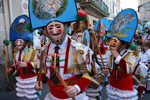 Carnaval Laza, Orense