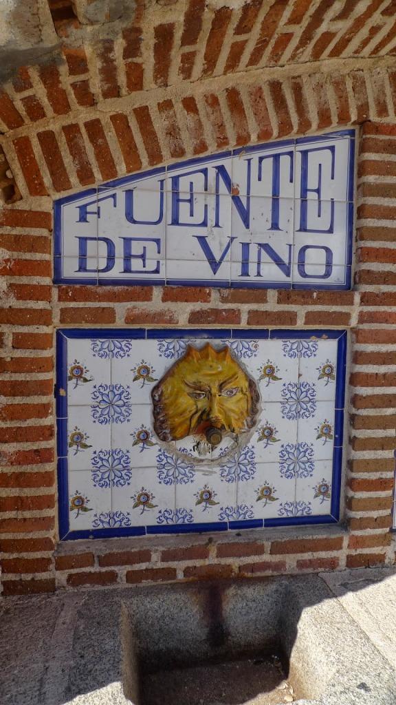 Fuente de vino
