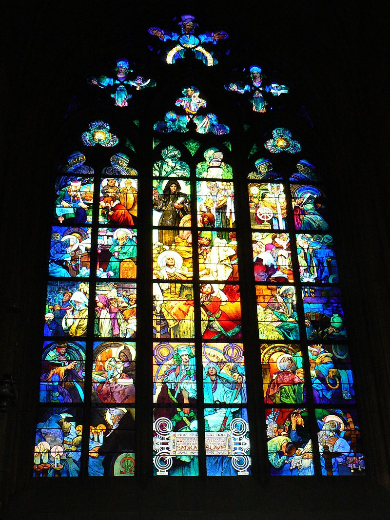 Vitral de la catedral