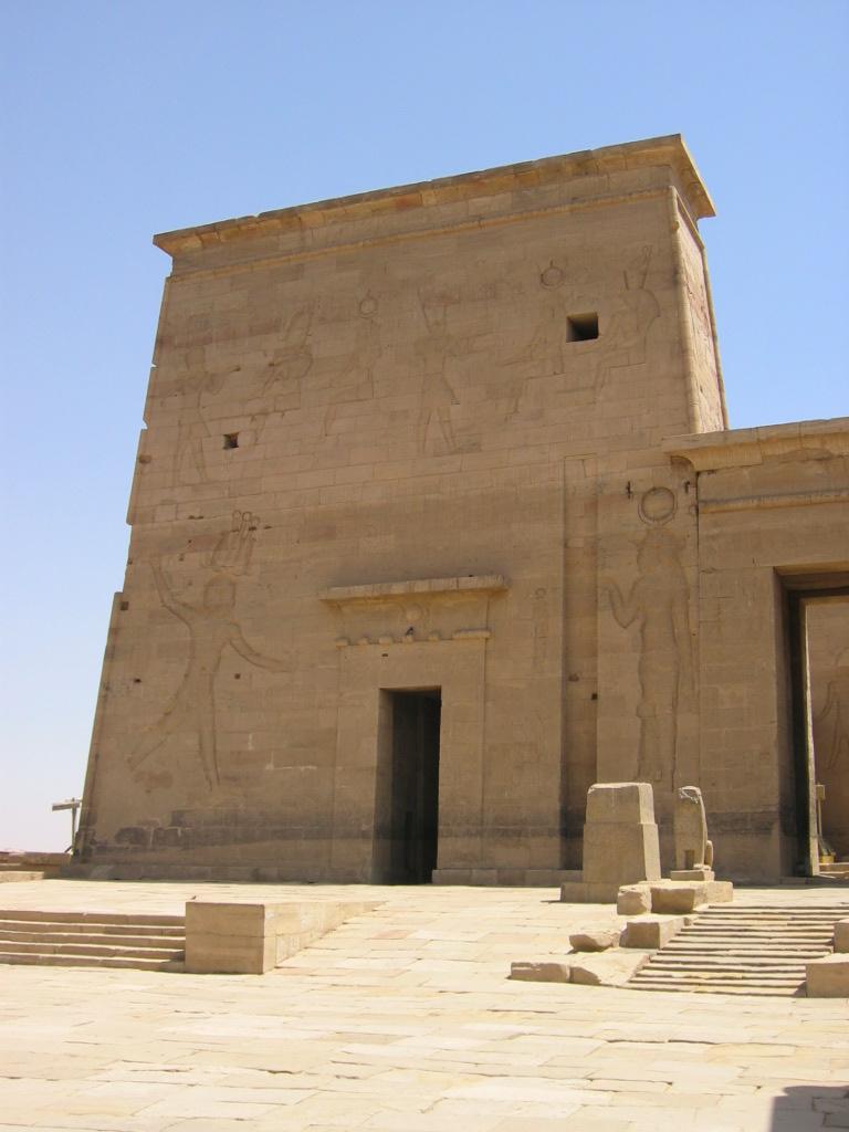 templo isis - isla philae